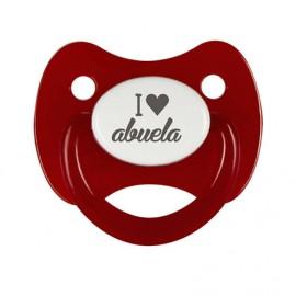 Chupete I love Abuela
