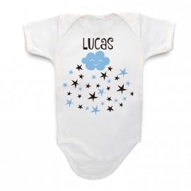 Body Bebé Personalizado Estrellas