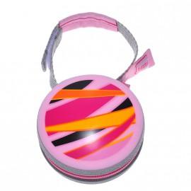 Caja Porta chupetes Mam diseño geométrico rosa