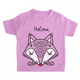Camiseta Bebé Personalizada Fox