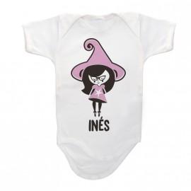 Body Bebé Personalizado Brujita