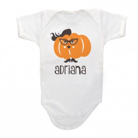 Body Bebé Personalizado Calabacita-chica