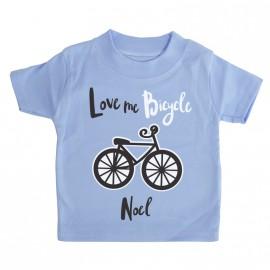 Camiseta I love Bicicleta