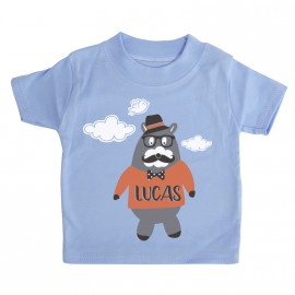 Camiseta Personalizada Osito hipster