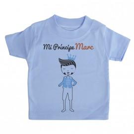 Camiseta Personalizada Mi Príncipe