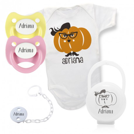 Pack Modelo Calabaza Hipster Chica