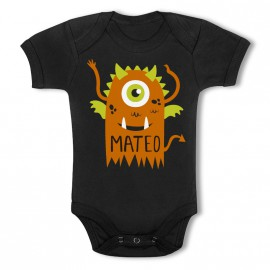 Body Personalizado Negro Modelo Monster