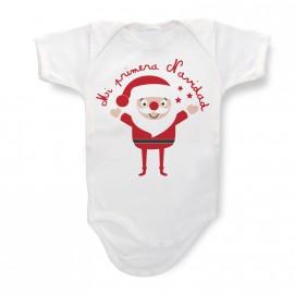 Body Bebé Papa Noel