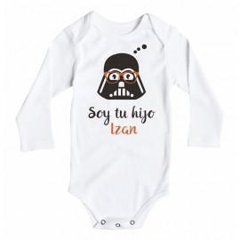 Body Bebé Soy tu hijo StarWars