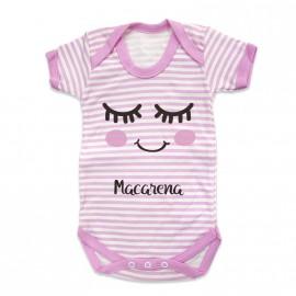 Body Bebé Personalizado sonrisa