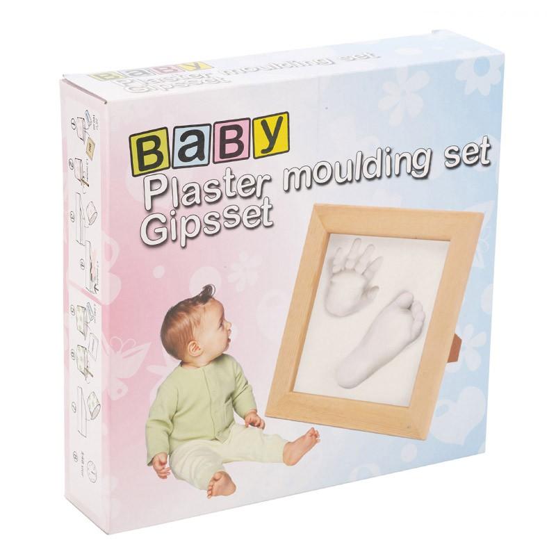 Kit de huella con marco para bebé