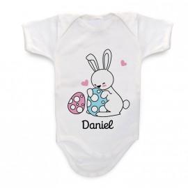 Body Bebé Conejo de Pascua