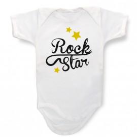 Body Bebé Personalizado RockStar