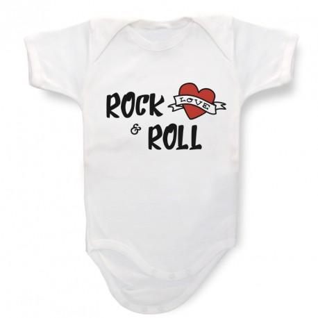 Body personalizado Rock & Roll