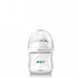 Biberón Personalizable Avent Blanco 125ml
