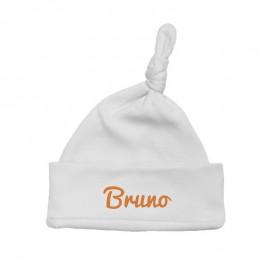 Gorro Bebé blanco personalizado