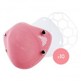 Mascarilla Infantil Silicona + 10 Filtros