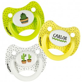 Pack chupetes personalizados Cactus