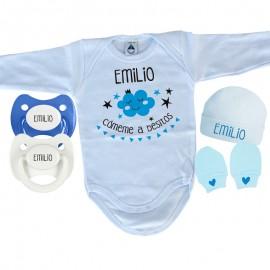 Pack de Nacimiento personalizado nube