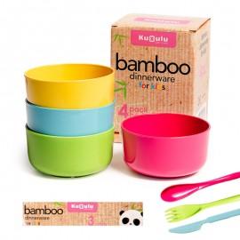 Cuencos Cocina Bambu Infantil