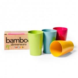 Vasos Bambú para niños
