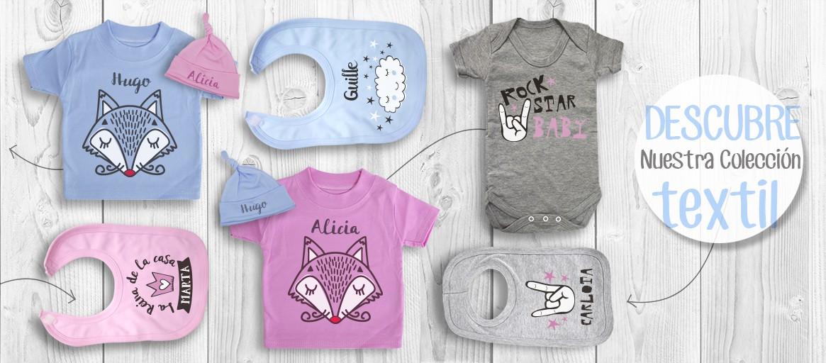 Bodys personalizados y complementos para bebés de Chupetemania