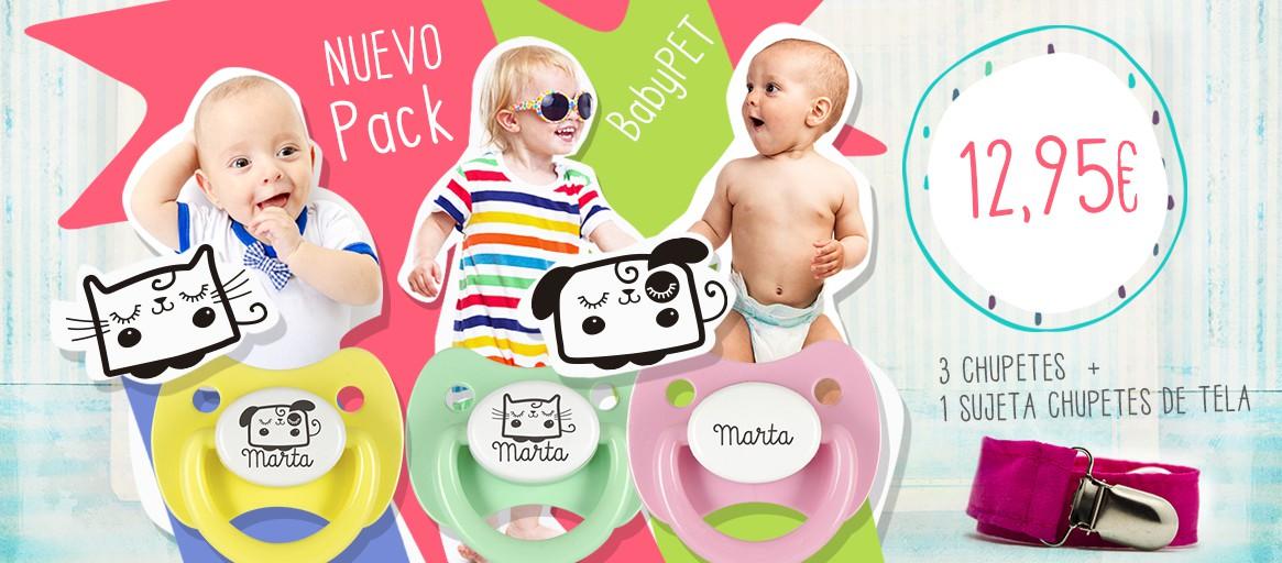 ¡Pack personalizado BabyPet!